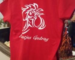 2016 De Genieters Haantjes Gedrag Tshirt